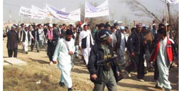 Großdemo gegen Mohammed-Karikaturen in Afghanistan