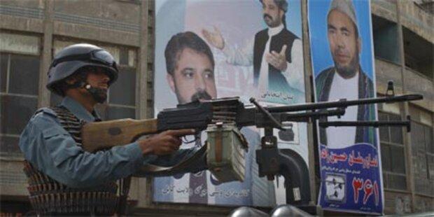 Gewalt bei Wahlen in Afghanistan