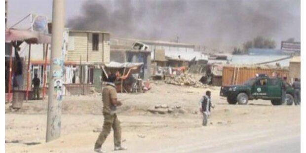 Terrorwelle erschüttert Afghanistan
