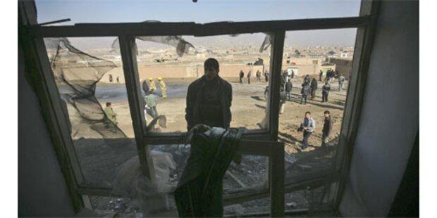 Selbstmordanschlag auf Polizeischule in Afghanistan