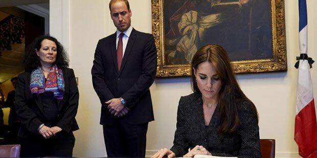 Kate & Will: Beileid für Terror-Opfer