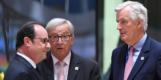 Brexit: EU einigt sich in Rekordzeit