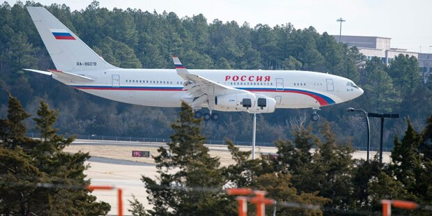 Ausgewiesene Russen verließen die USA