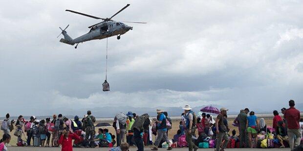 Endlich kommt Hilfe bei Taifun-Opfern an
