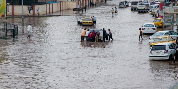 Überschwemmungen im westafrikanischen Niger