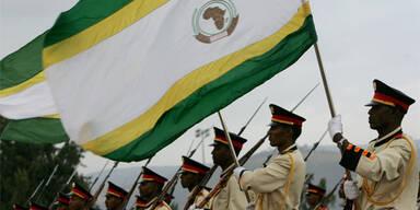 Die Flagge der afrikanischen Union (c) AP