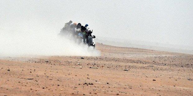 30 Flüchtlinge in der Sahara verdurstet