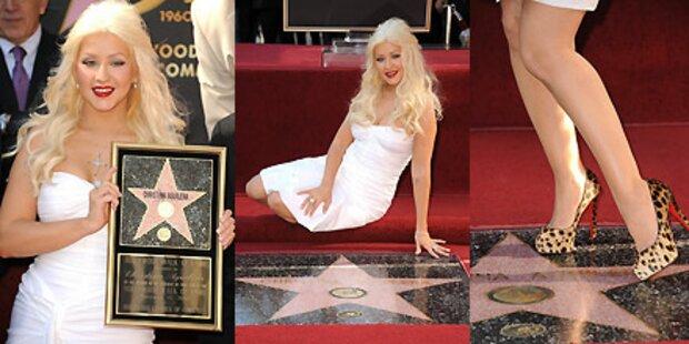 Aguilera: Sexy Posen für Hollywood-Stern