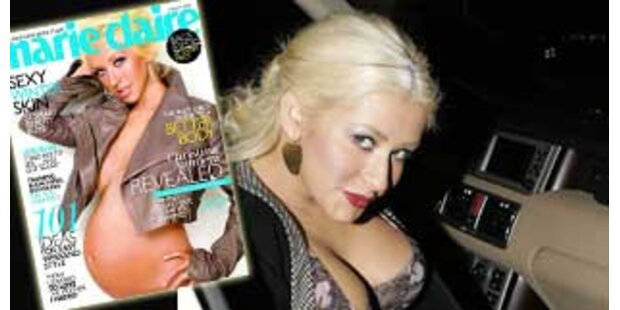 Hot Mama - Christina Aguilera zeigt Babybauch