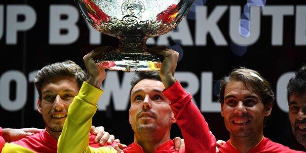 Spieler verlor Vater & siegte im Davis Cup
