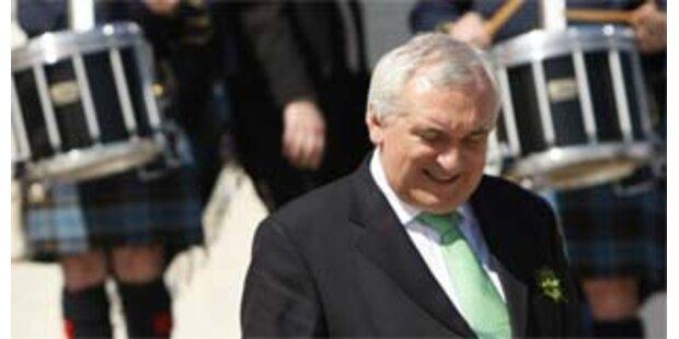 Irischer Premier Ahern tritt zurück