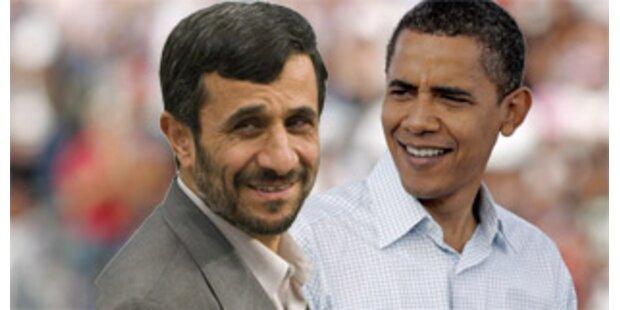 Ahmadinejad gratuliert Obama