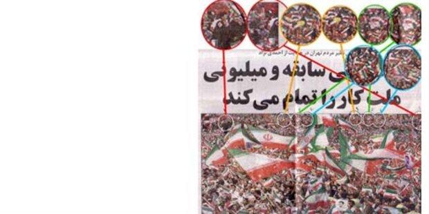 Iran manipuliert Bilder mit Photoshop