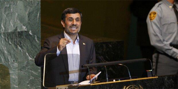 Ahamdinejad sorgt wieder für Eklat