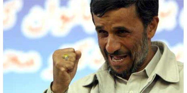 Betrugsvorwürfe nach Sieg Ahmadinejads