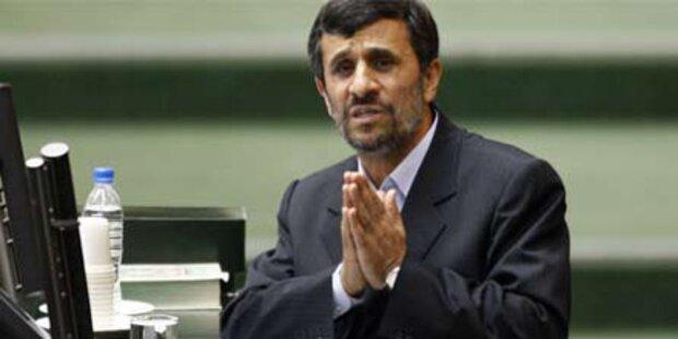 Ahmadinejad drohen 74 Peitschenhiebe