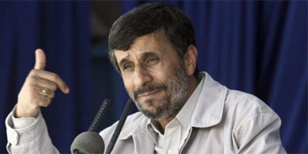 Ahmadinejad droht Weltmächten