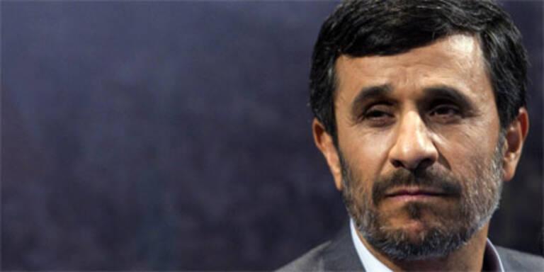 Der iranische Präsident Ahmadinejad.