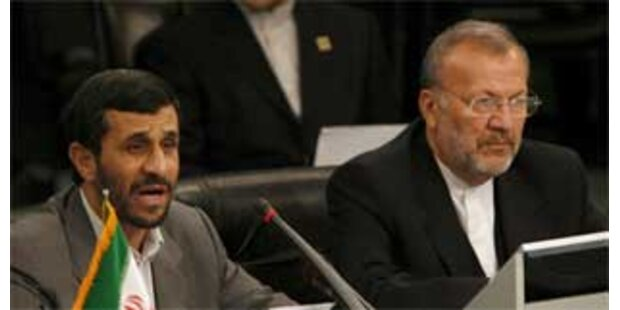 Ahmadinejad bestreitet Rücktritt von Außenminister