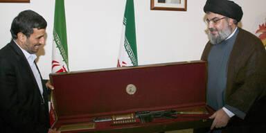 Israelisches Gewehr für Ahmadinejad
