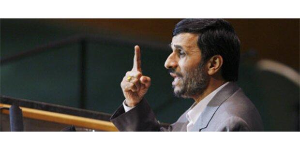 Ahmadinejad verteidigt sein Atomprogramm