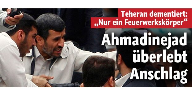 Ahmadinejad überlebt Anschlag im Iran