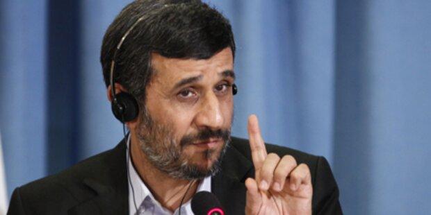 Explosion überschattet Ahmadinejad-Trip
