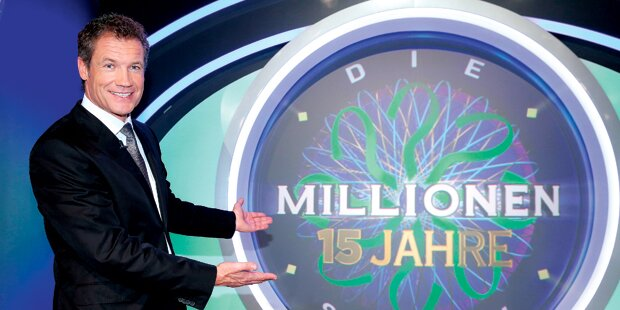 Assinger feiert 15 Jahre Millionenshow