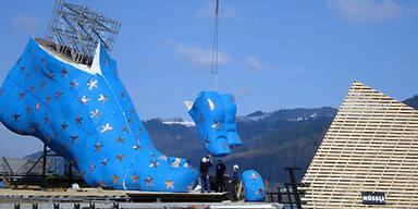 Bregenz lebt auf großen Füßen