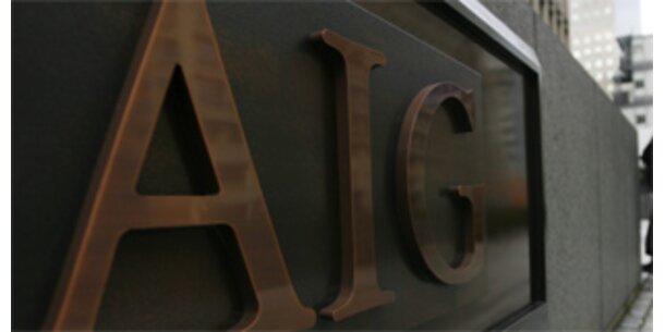 AIG schenkt trotz Pleite-Gefahr Managern 450 Mio. Euro
