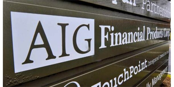 Meiste AIG-Manager zahlen Boni zurück