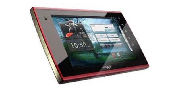 Neuer iPad-Gegner setzt auf Android 2.1