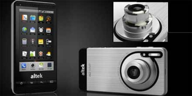 Smartphone mit 14 MP-Cam & optischem Zoom