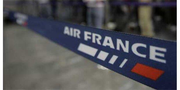 Bombendrohung gegen Air France-Flug