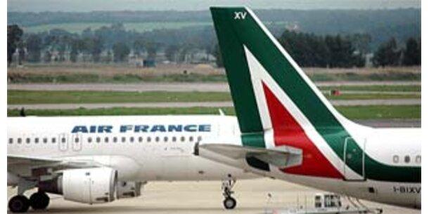 Italienische Unternehmen mit Interesse an Alitalia
