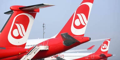 Air Berlin immer tiefer in rote Zahlen