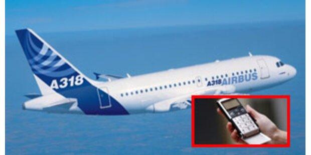 Handy-Gespräche im Flugzeug auch in Europa
