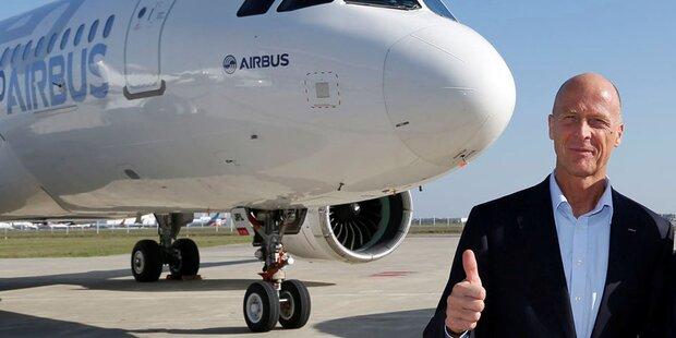 Neue Großaufträge für Airbus & Boeing