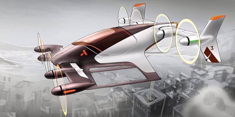 Airbus bringt fliegendes Taxi ohne Pilot