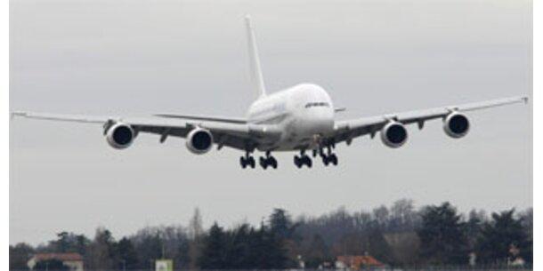 A380-Flug mit alternativem Kraftstoff
