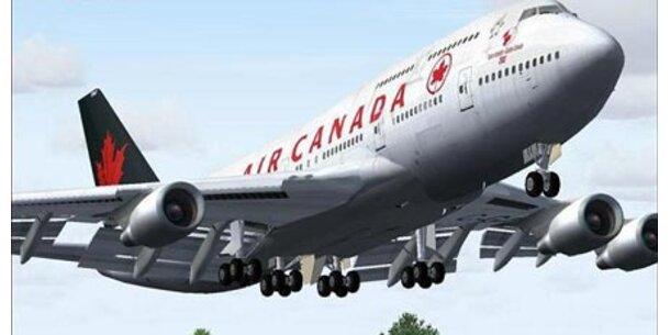Air Canada steht offenbar vor Konkurs