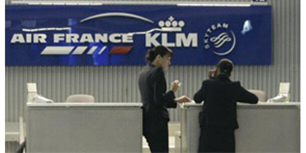Air France rutscht tief ins Minus
