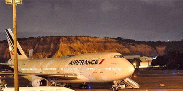 Bombenalarm im Air France Jumbo