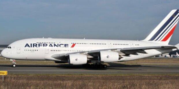 Bomben-Alarm auf Air-France-Flügen