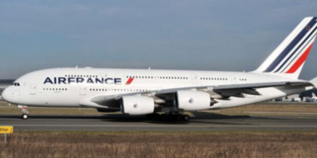 Probleme mit Bordelektrik bei Air France