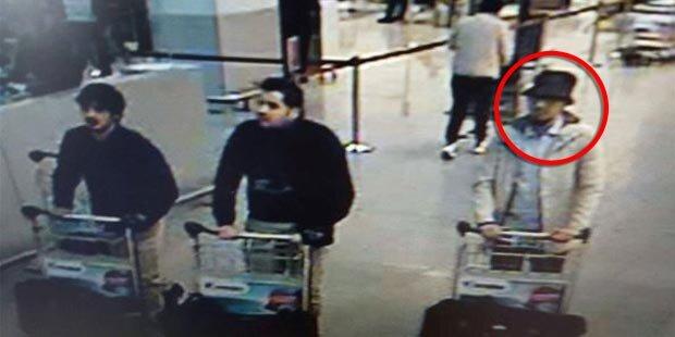 Brüssel: Dritter Flughafen-Terrorist gefasst