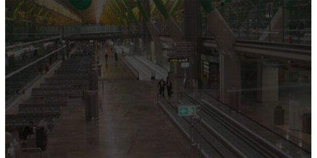 Blackout legt Madrider Airport lahm