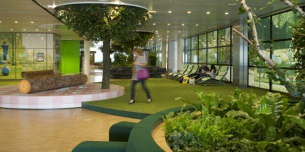 Amsterdams Flughafen hat jetzt einen Park