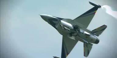 Spektakuläre Bilder der Airpower 2013