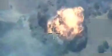 190 Tote bei Luftschlägen gegen PKK